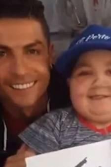 Le superbe geste de Cristiano Ronaldo envers un enfant malade