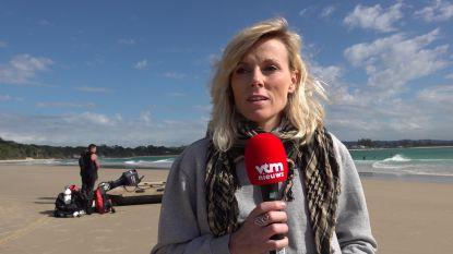 """Cathérine Moerkerke in Byron Bay: """"Politie houdt rekening met nachtelijke zwempartij"""""""