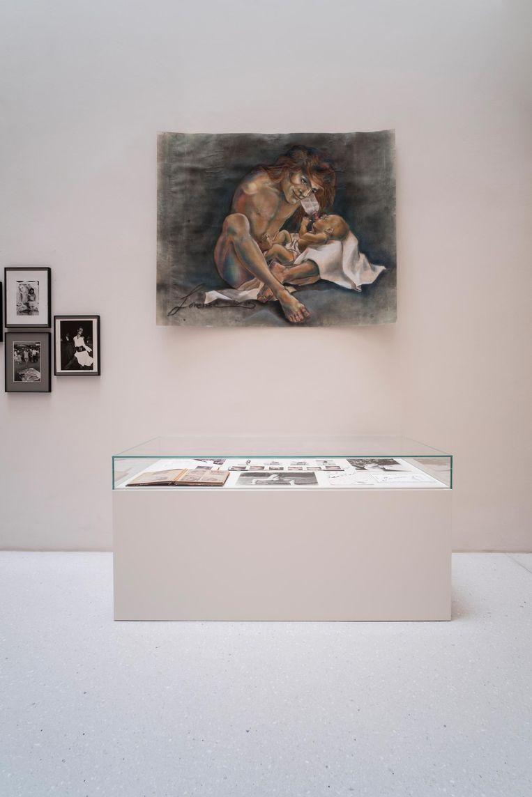 Werk van Lorenza Böttner op de Documenta 14 in Kassel. Beeld Mathias Voelzke