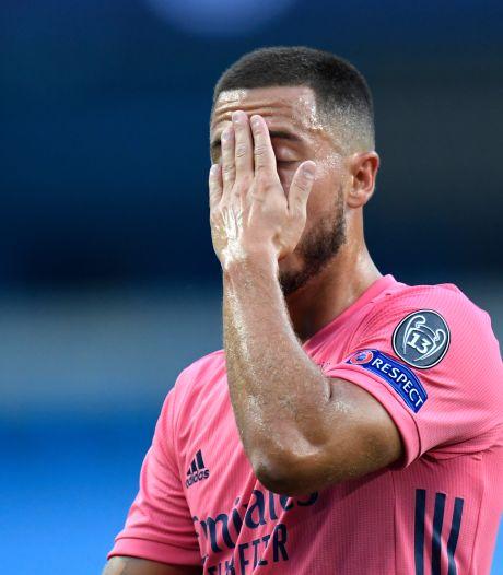 Hazard opnieuw met blessure aan de kant bij Real Madrid