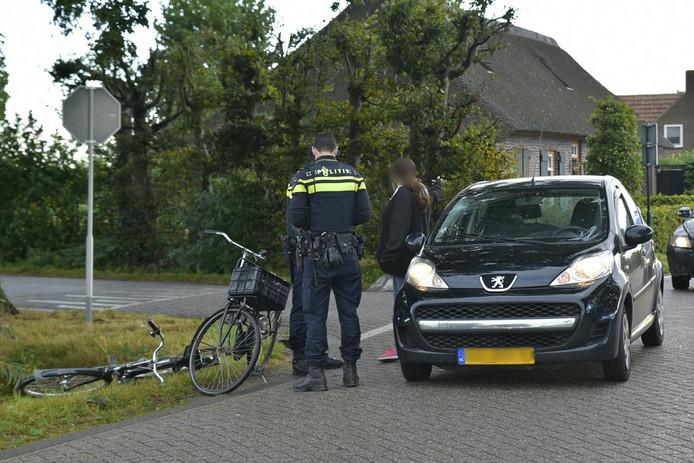 Aanrijding Molenhoefstraat en Waalwijkseweg Berkel-Enschot.