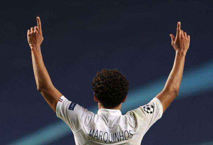 Marquinhos a remis le PSG dans le droit chemin, mercredi soir, à Lisbonne.