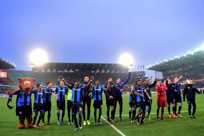 Blauw-zwart mocht al vaak zijn supporters danken voor de steun.