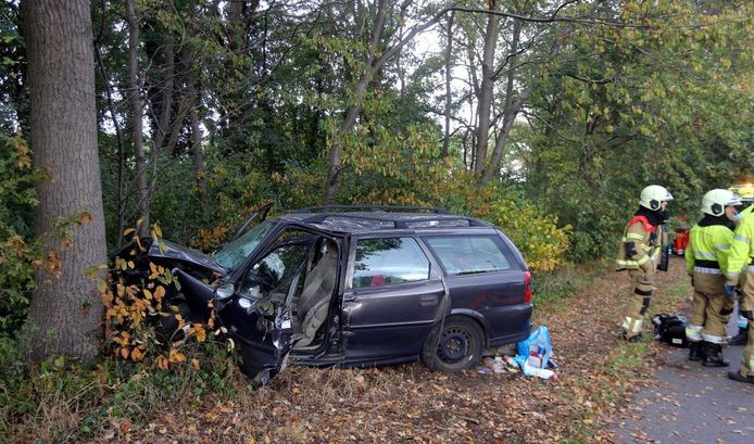 Ongeluk op N65 bij Helvoirt