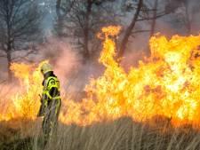 Brandweer waarschuwt: kans op onvoorspelbare natuurbrand in Oost-Nederland