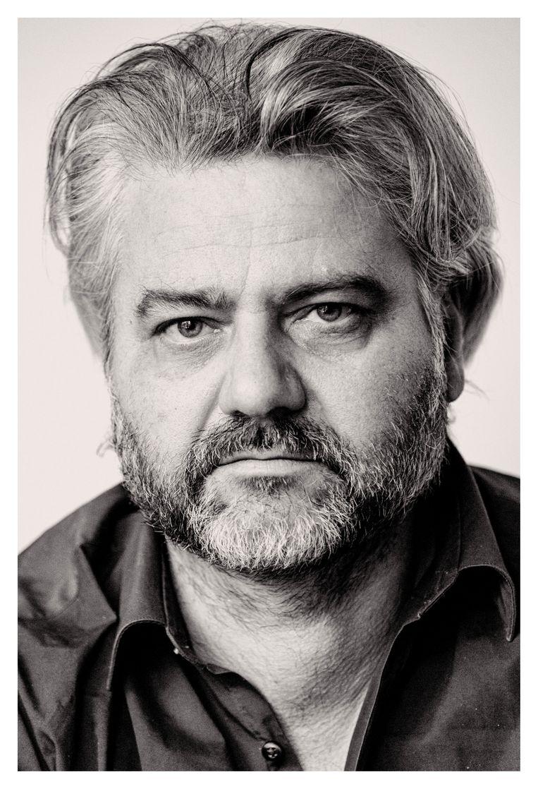 Schrijver en journalist Pascal Verbeken Beeld Michiel Hendryckx