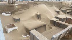 "Strandbars worden zandbars na doortocht storm Odette: ""Nooit gezien"""