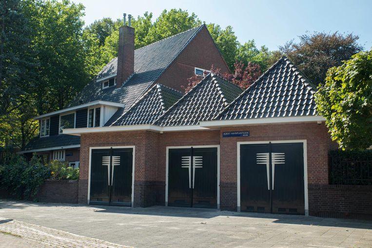 De villa werd in 1927 betrokken door de architect zelf, Jan Hendrik Mulder (1888-1960) Beeld Charlotte Odijk