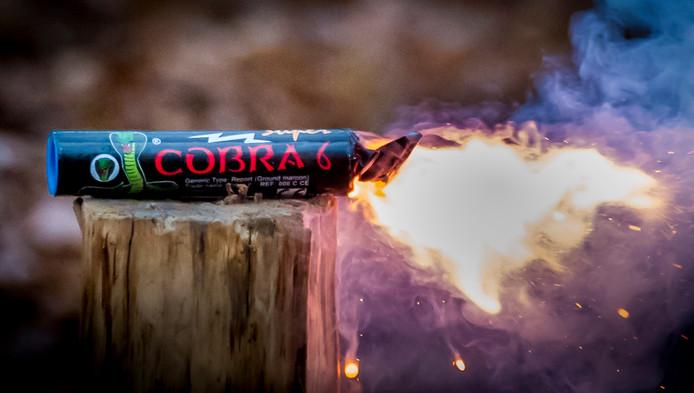 Illegaal vuurwerk. Foto ter illustratie.