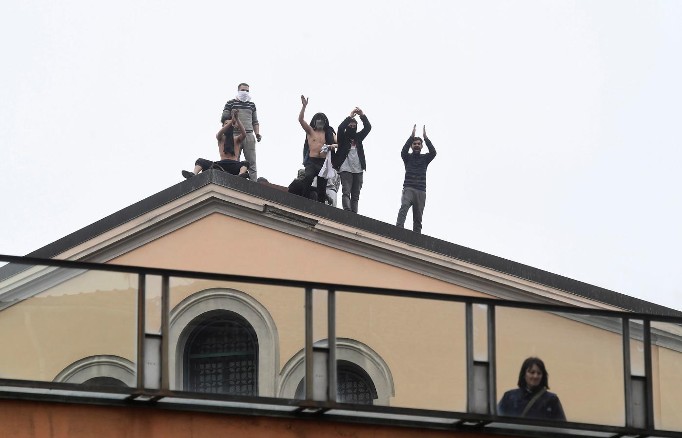 La prison de San Vittore à Milan.