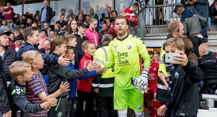 Nick Marsman (28) is kandidaat om keeper van PEC Zwolle te worden.
