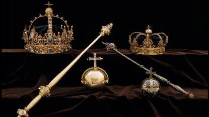 Verdachte opgepakt voor spectaculaire kroonjuwelenroof in Zweden