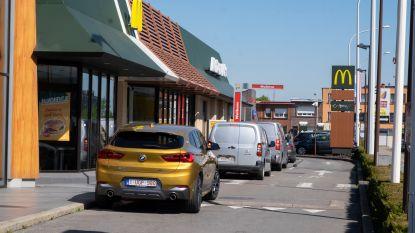 Overrompeling blijft uit bij heropening drive-in van McDonald's in Merksem