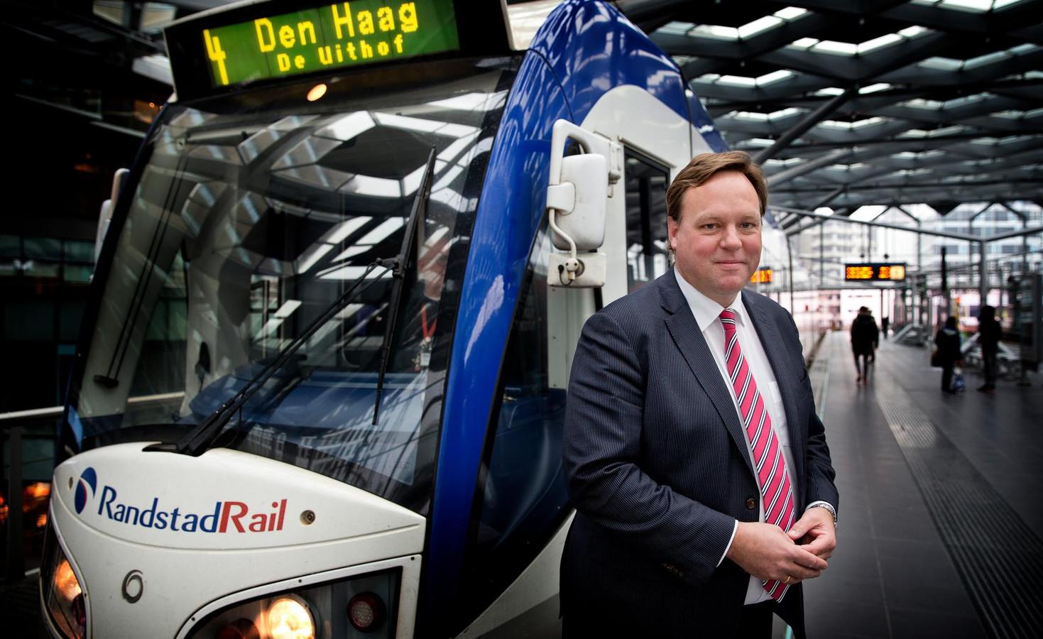Bierman: ,,Randstadrail is een doorslaand succes.''