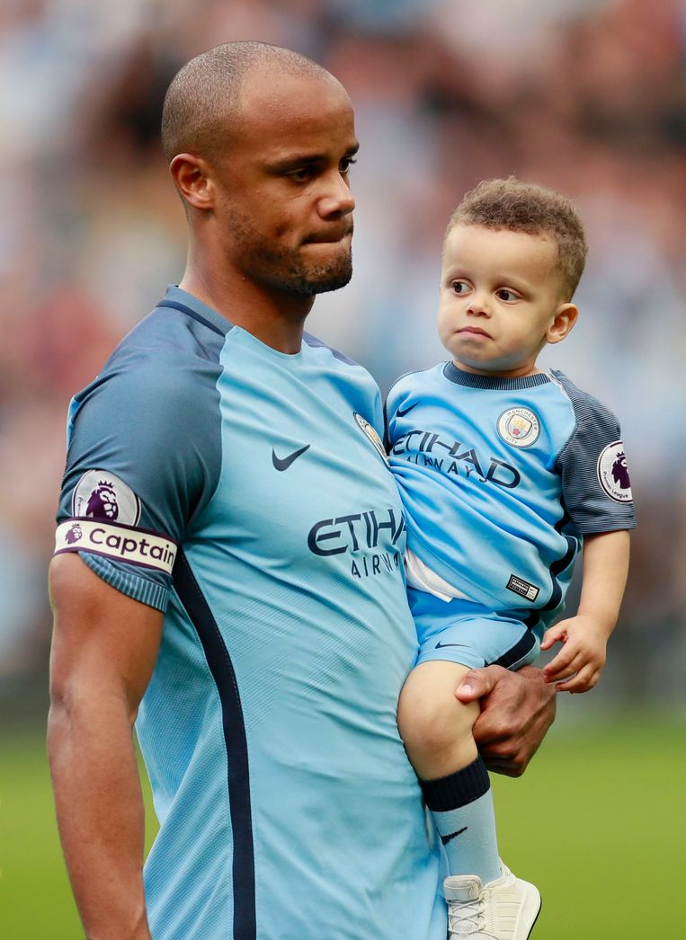 Picture of Vincent Kompany Son, called Caleb