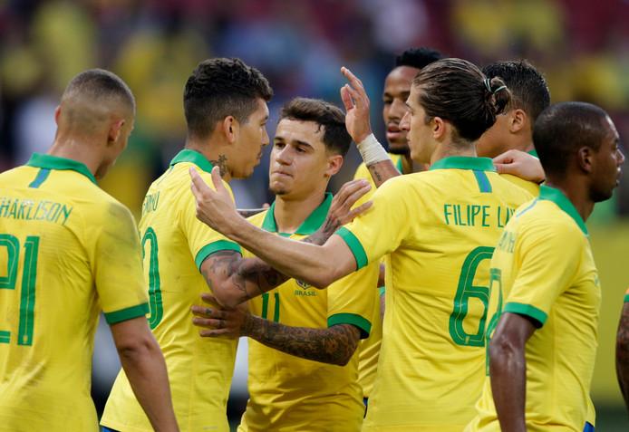 Brazilië speelt de openingswedstrijd van de Copa América in eigen land tegen Boliva.