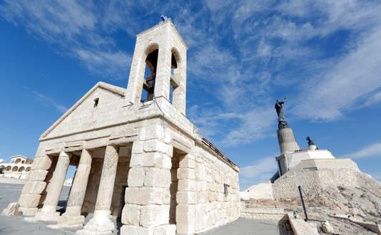 Een christelijke kerk in de regio Saidnaya, waar een deel van de bevolking nog Aramees spreekt: de taal van Jezus.