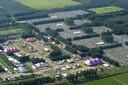 Archieffoto van het Lowlands-terrein in Dronten.
