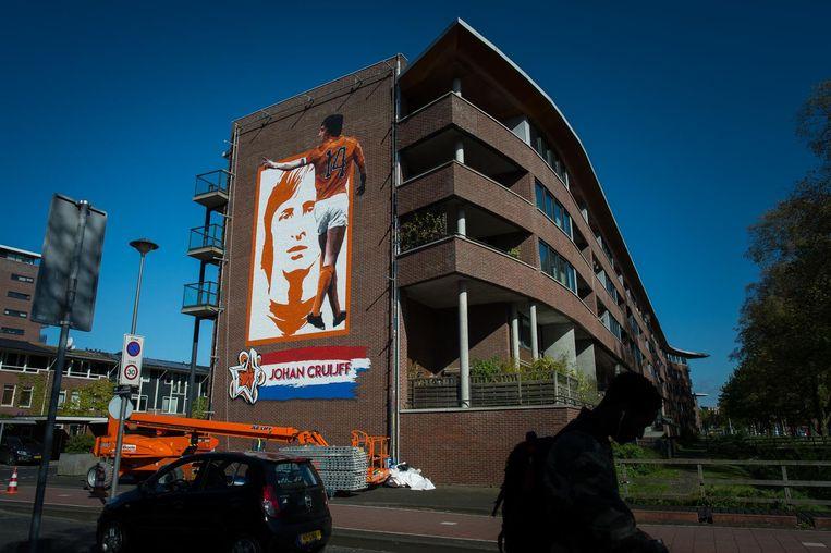 Wembleylaan/Anfieldroad Beeld Mats van Soolingen