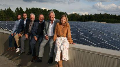 Dak van twintigduizend vierkante meter vol zonnepanelen