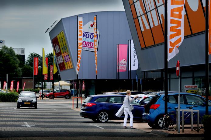 De woonboulevard in Dordrecht.