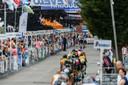 Volop sfeer en strijd ook ieder jaar jaar in Zevenbergen, waar in 2019 Caleb Ewan en Fabio Jakobsen  menig sprintduel uitvochten.