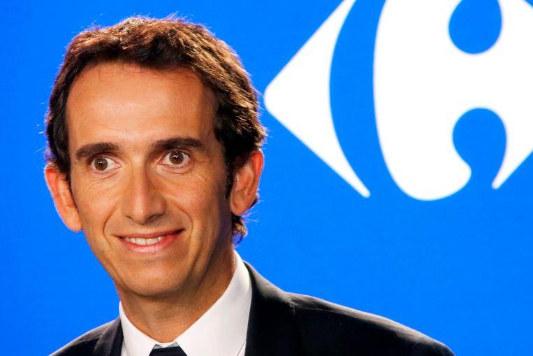 Alexandre Bompard, bestuursvoorzitter van Carrefour. Beeld AP