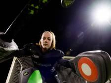 Hockeykeepster Esther Blom deinst voor niemand terug