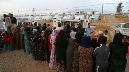 Artsen Zonder Grenzen start met medische hulp aan grens tussen Irak en Syrië