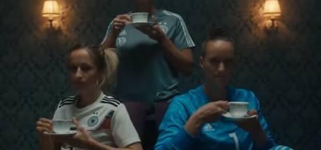 Duitse voetbalsters gaan viraal: 'Hebben geen ballen, maar weten wel wat we ermee moeten doen'