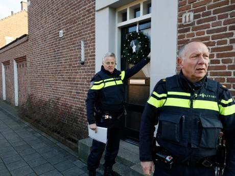 Politie flyert en belt aan in Heseveld na schietpartij