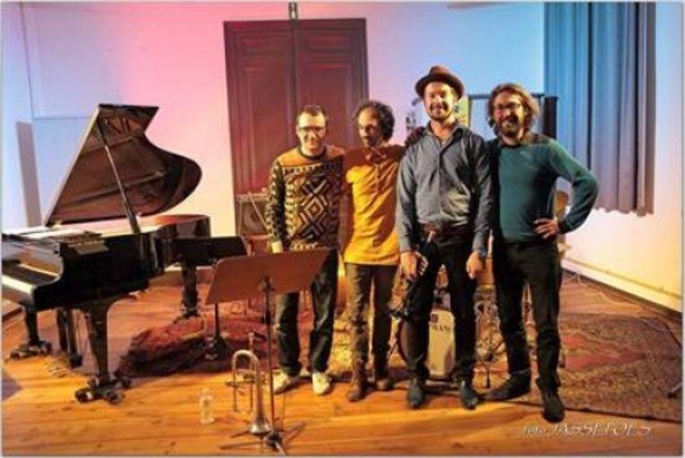 Lionel Beuvens en zijn band MOTU.