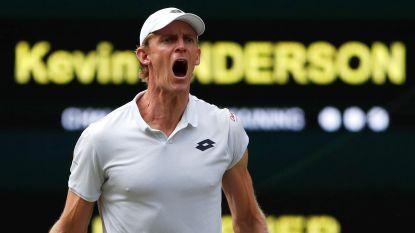 Wat een spektakel! Anderson knokt zich na epische strijd van bijna zeven uur voorbij opslagkanon Isner naar finale Wimbledon