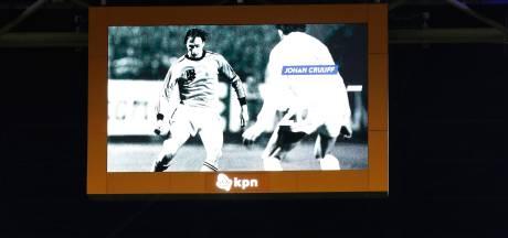 KNVB herdenkt Cruijff voor aanvang van Nederland - Duitsland