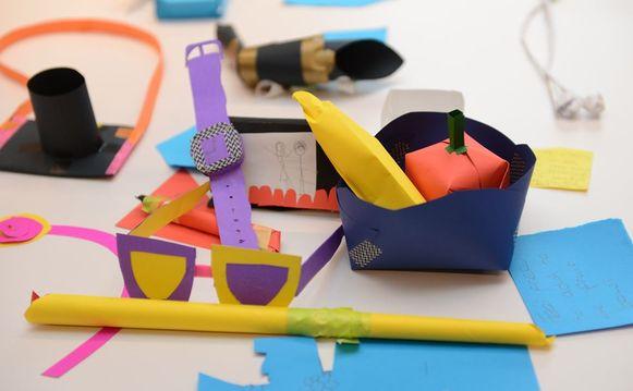 In The Design Museum organiseren ze erg leuke workshops voor kinderen.