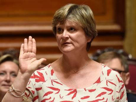 Sabine Laruelle est la nouvelle présidente du Sénat