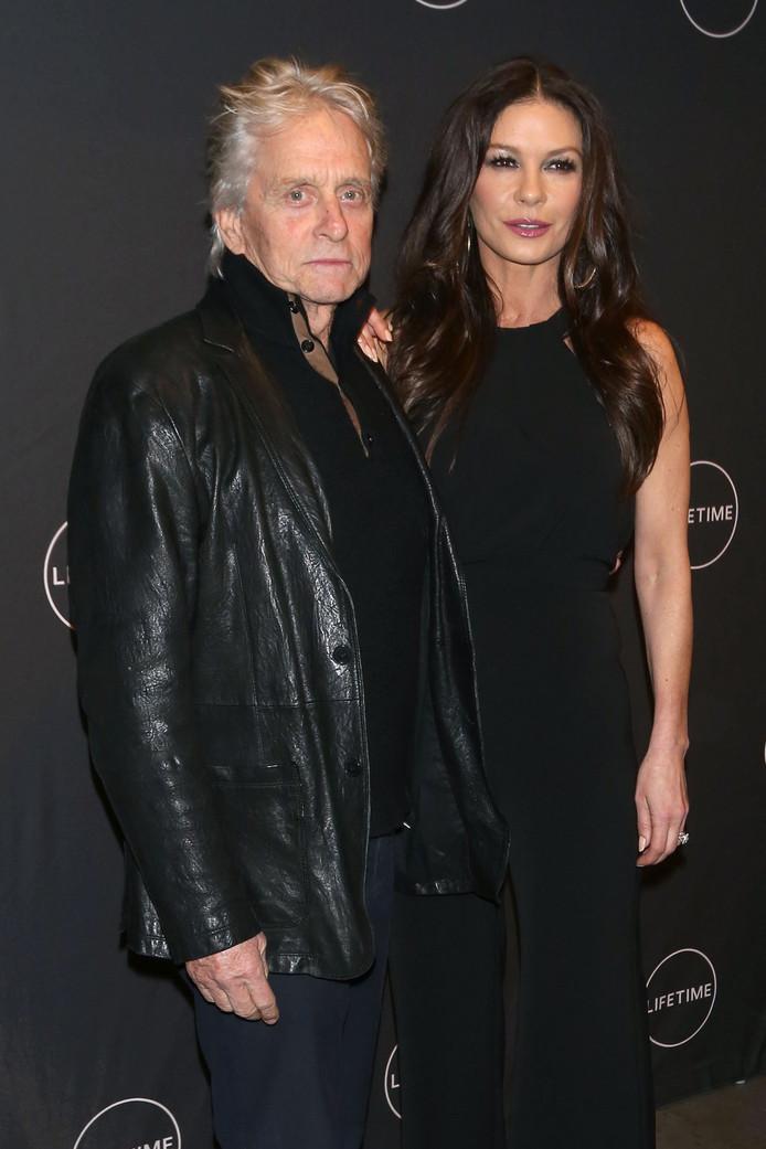 Michael Douglas en zijn vrouw Catherine Zeta Jones