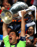 Iker Casillas wint in 2014 voor de derde keer in zijn carrière de Champions League met Real Madrid.
