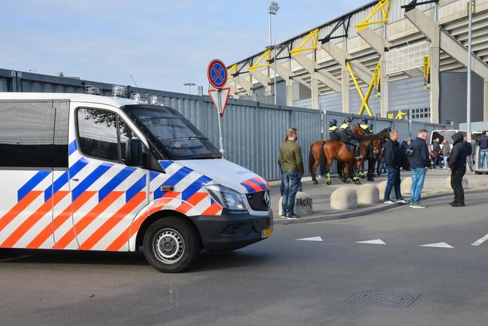 Onrust na NAC-Willem II rellen.