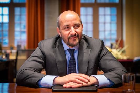 Burgemeester Ahmed Marcouch.