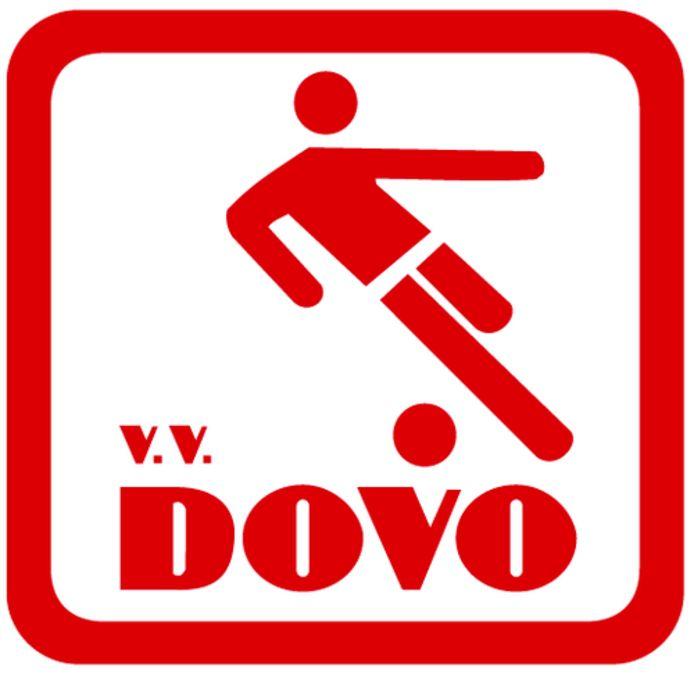 Het logo van DOVO.