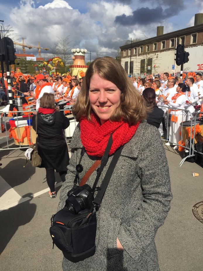 Mendy Jansma van de VVV in Tilburg