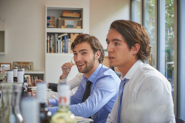 Zoon (links) Beeld Theo Stielstra