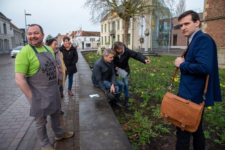 Oxfam nam haar nationale promotiefilm opnieuw op het dorp van Laarne op.