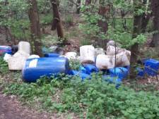 Weer drugsdumpingen in Brabant, bestelbus verliest chemische vloeistof tijdens rijden