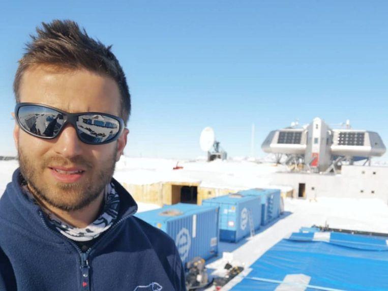 Guus Luppens zorgde er mee voor dat de Prinses Elisabethbasis op Antarctica CO2-neutraal blijft.