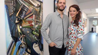 Het lief van Xavier en de vrouw van Steven: onverwachte BV-koppels op galerijopening