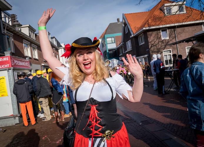 Piraat Marith Roelofs (27) uit Arnhem.