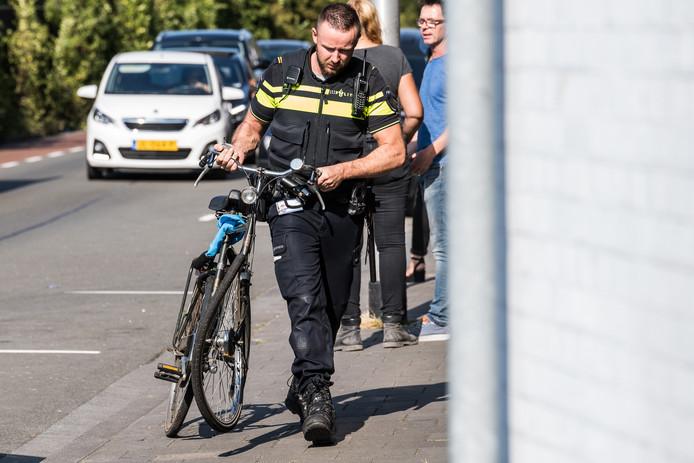 Botsing tussen drie fietsers in Tilburg