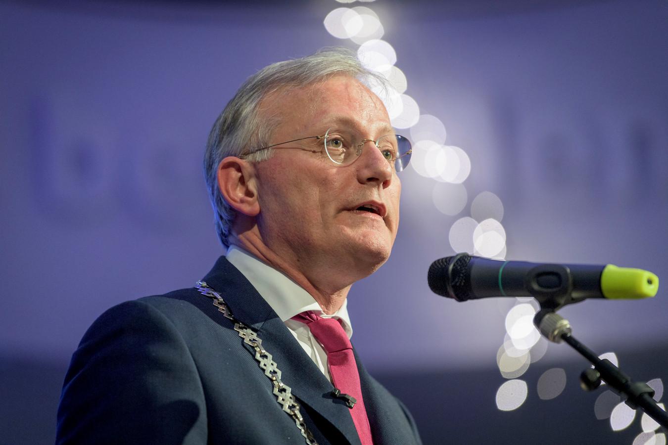 Burgemeester Arjen Gerritsen.
